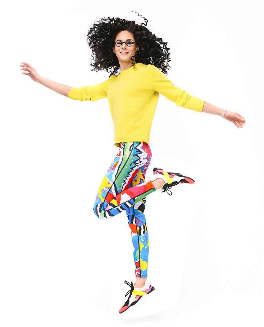 леггинсы тайтсы лосины с карманами яркие цветные mypurplemood