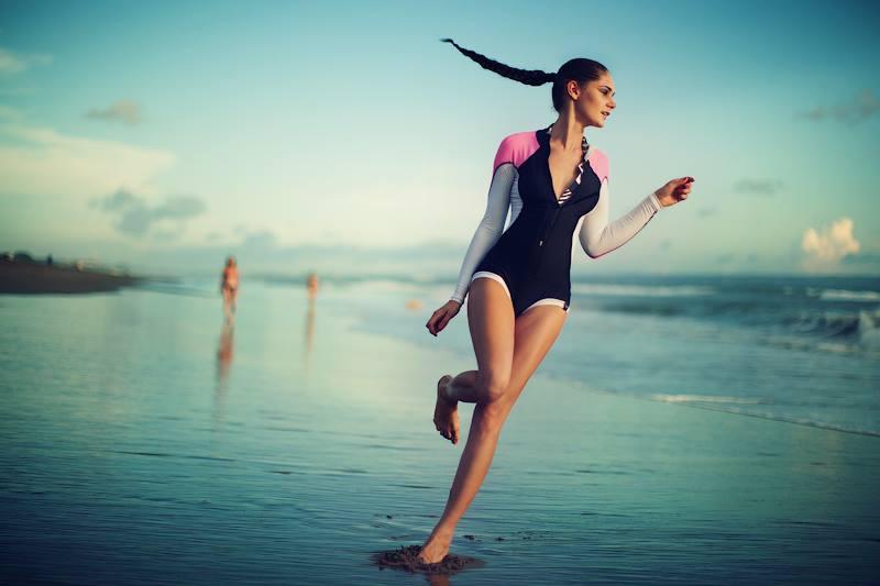 купальник для серфинга с рукавами my pyrple mood